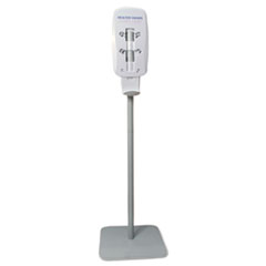PURELL Floor Stand for TFX Touch Free Instant Hand Sanitizing Dispenser, Light Gray