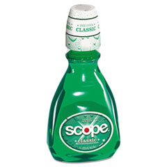 Scope Mouthwash, Mint, 33.8oz Bottle, 6/Carton