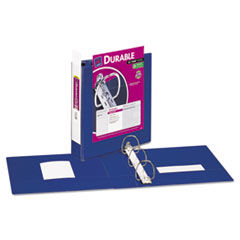 Avery Durable Vinyl Slant D Ring View Binder, 11 x 8-1/2, 2