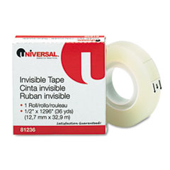 Universal Invisible Tape, 1/2