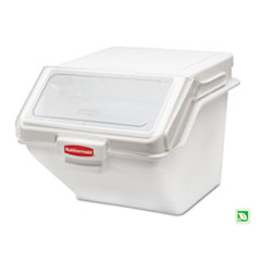 Rubbermaid Commercial PROSAVE Shelf Ingredient Bin, 19 1/5