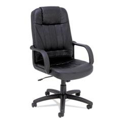 ALE SP41LS10B Alera Sparis Executive High-Back Swivel/Tilt Leather Chair ALESP41LS10B