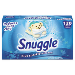 Snuggle Fabric Softener Sheets, Fresh Scent, 120 Sheets/Box, 6 Boxes/Carton