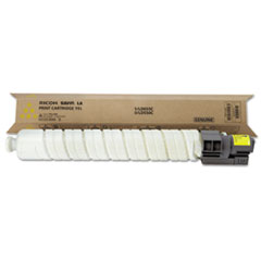 Ricoh 841285 Toner, 17,000 Page-Yield, Yellow