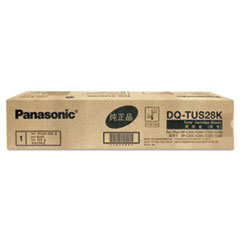 Panasonic DQTUS28K Toner, 28,000 Page-Yield, Black