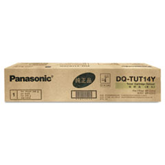 Panasonic DQTUT14Y Toner, 14,000 Page-Yield, Yellow