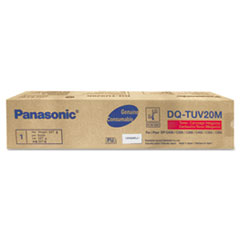 Panasonic DQTUV20M Toner, 20,000 Page-Yield, Magenta