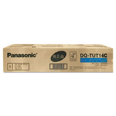 Panasonic DQTUT14C Toner, 14,000 Page-Yield, Cyan