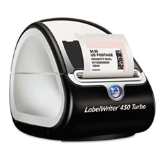 DYMO LabelWriter Turbo Printer, 71 Label/Min, 5w x 7-1/5d x 5-1/5h