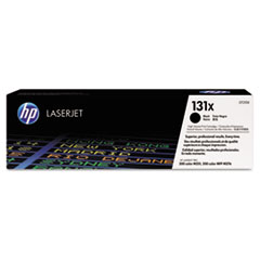HP 131X, (CF210X) High Yield Black Original LaserJet Toner Cartridge