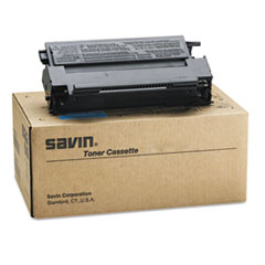 Savin 9896 Toner Bottle, 9000 Page-Yield, Black