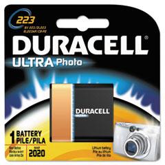 DUR DL223ABPK Duracell Ultra High-Power Lithium Batteries DURDL223ABPK