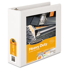 Wilson Jones Heavy-Duty D-Ring Vinyl View Binder, 3
