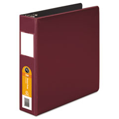 Wilson Jones Heavy-Duty No-Gap D-Ring Binder With Label Holder, 2