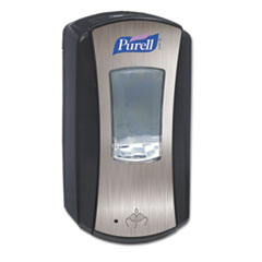 PURELL LTX-12 Dispenser, 1200 mL, Black