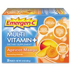 Emergen-C Immune Defense Drink Mix, Apricot Mango, 0.3 oz Packet, 30/Pack