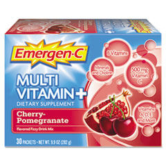 Emergen-C Immune Defense Drink Mix, Cherry Pomegranate, 0.3 oz, Packet, 30/Pack