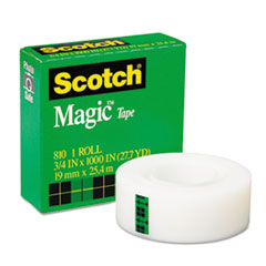 Scotch Magic Tape, 3/4
