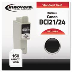 IVR 2124BK Innovera 2124BK, 2124CLR Inkjet Cartridge IVR2124BK