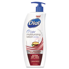 Dial Extra Dry 7-Day Moisturizing Lotion with Shea Butter, 21 oz