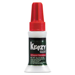 Krazy Glue All-Purpose Brush On Formula, .17 Oz.,