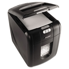 Swingline Stack-and-Shred 100X Cross-Cut Shredder, 100 Sheet Capacity Automatic Feed