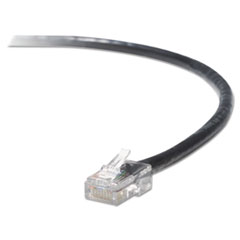 Belkin High Performance CAT6 UTP Patch Cable, 3 ft., Black