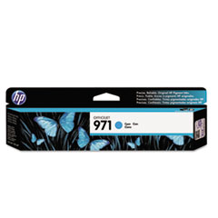 HP 971, (CN622AM) Cyan Original Ink Cartridge works with HP OfficeJet Pro X451 / X476 / X551 / X576