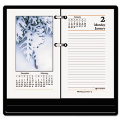 AT-A-GLANCE Recycled Photographic Desk Calendar Refill, 3 1/2