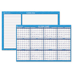 AT-A-GLANCE Recycled Horizontal Erasable Wall Planner, Yearly Calendar, 48