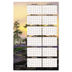 AT-A-GLANCE Successories Horizontal/Vertical Erasable Wall Planner, 24