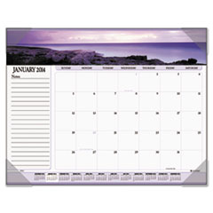 Visual Organizer Recycled Seascape Panoramic Desk Pad, 22 x 17, 2013