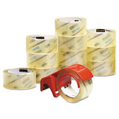 Scotch 3750 Commercial Performance Packaging Tape, 1.88