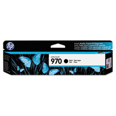 HP 970, (CN621AM) Black Original Ink Cartridge works with HP OfficeJet Pro X451 / X476 / X551 / X576