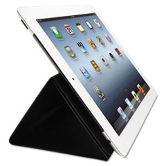 Kensington Folio Expert Cover Stand, for iPad/iPad2, Black