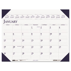 House of Doolittle Executive Monthly Desk Pad Calendar, 24 x 19, 2015