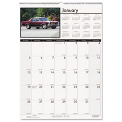 House of Doolittle Classic Cars Monthly Wall Calendar, 12 x 16-1/2, 2015