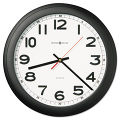 MIL 625509 Howard Miller Norcross Auto Daylight-Savings Wall Clock MIL625509