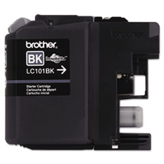 Brother LC101BK, LC101BK Ink,300 Page-Yield, Black
