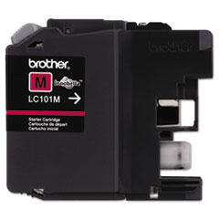 Brother LC101M, LC101M Ink, 300 Page-Yield, Magenta