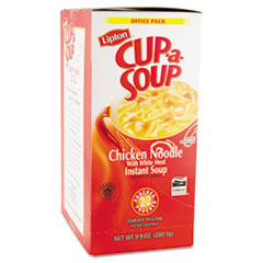 Lipton Cup-a-Soup, Chicken Noodle, Single Serving, 22/Box