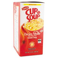 Lipton Cup-a-Soup, Chicken Noodle, Single Serving, 22/Box