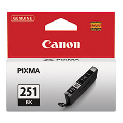 Canon 6513B001 (CLI-251) Ink, 9 mL, Black