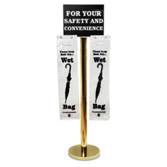 TCO 57029 Tatco Brass Wet Umbrella Bag Stand TCO57029