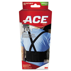 MMM 208605 ACE Work Belt with Removable Suspenders MMM208605
