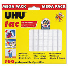 UHU Tac Adhesive Putty, Removable/Reusable, 4.23 oz, Each