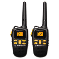 Motorola Talkabout MD207R Two Way Radio, 1 Watt, GMRS/FRS, 22 Channels