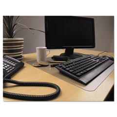 FLR FPDE1924RA Floortex Desktex Polycarbonate Anti-Slip Desk Mat FLRFPDE1924RA