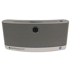 Spracht AURA BluNote Bluetooth Wireless Speaker, Silver