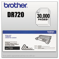 Brother DR720 (DR-720) Drum Unit, 30000 Page-Yield